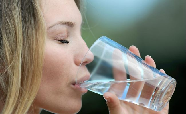 hydrate your body for better skin care